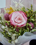 Preserved Pink Rose Bouquet
