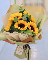 The Sunny Side Up - Fresh Sunflower Bouquet