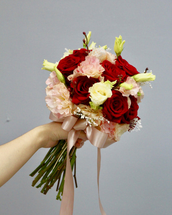 Bridal Bouquet | Free Flower Delivery | V Florist SG