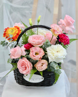 Flower box Flower Basket | Free Flower Delivery | V Florist SG