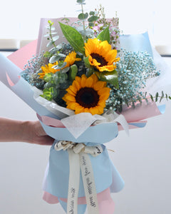 fresh sunflower bouquet | Free Flower Delivery | V Florist SG