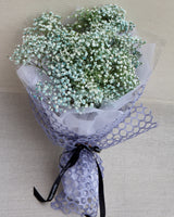 The Star - Fresh Blue Baby's Breath