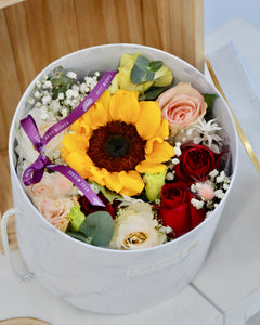 Sunflower Blooming Box
