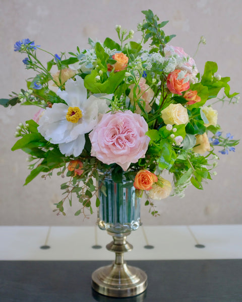 Tall Vase Arrangement - Luxury
