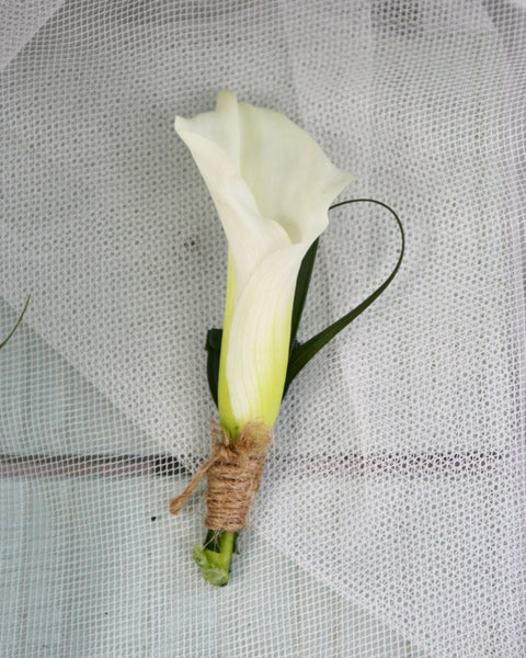 Wedding Flowers Singapore | Calla Lily Corsages and Headbands | V Florist SG