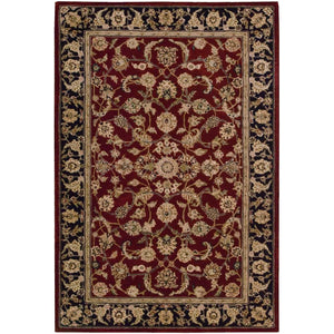 2002 Burgundy-Traditional-Area Rugs Weaver