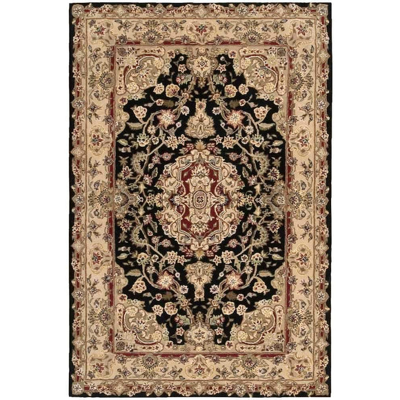 2028 Black-Traditional-Area Rugs Weaver