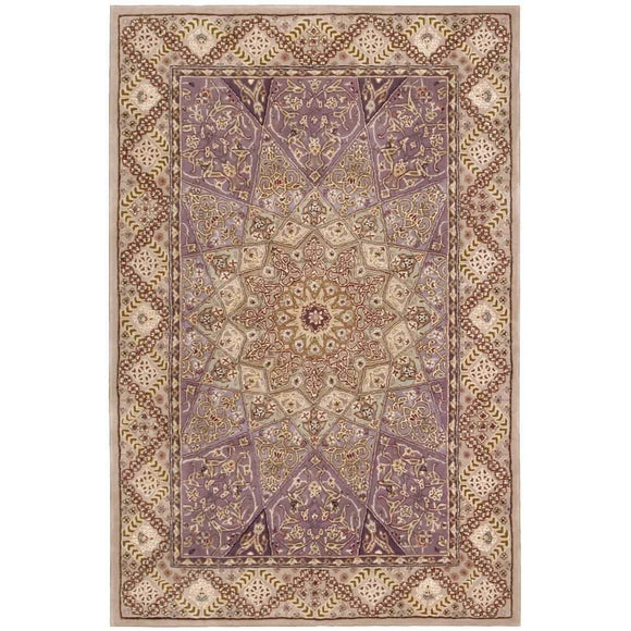 2117 Purple-Traditional-Area Rugs Weaver