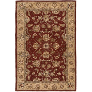 2203 Brown-Traditional-Area Rugs Weaver