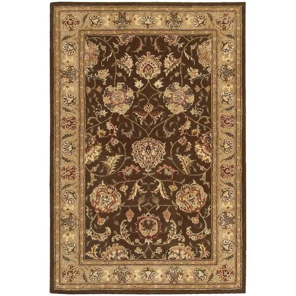 2206 Brown-Traditional-Area Rugs Weaver