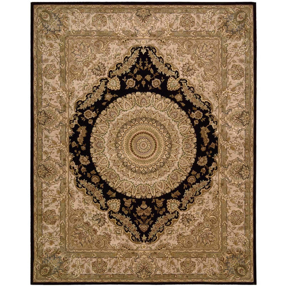 2233 Black-Traditional-Area Rugs Weaver