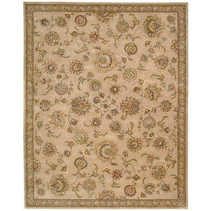 2360 Beige-Traditional-Area Rugs Weaver