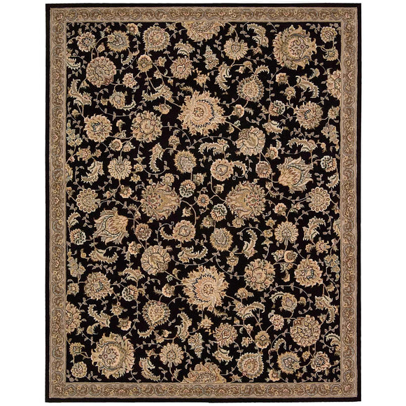 2360 Black-Traditional-Area Rugs Weaver