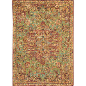 JEL01 Green-Traditional-Area Rugs Weaver
