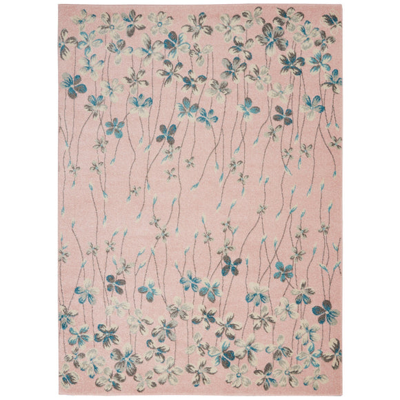 TRA04 Pink-Casual-Area Rugs Weaver