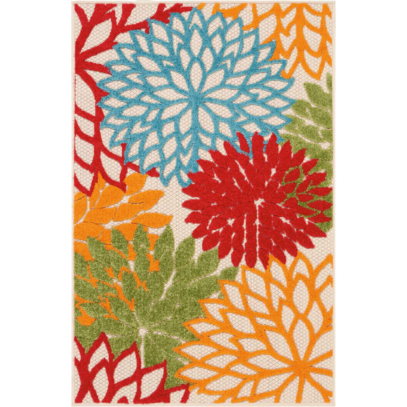 ALH05 Green-Outdoor-Area Rugs Weaver