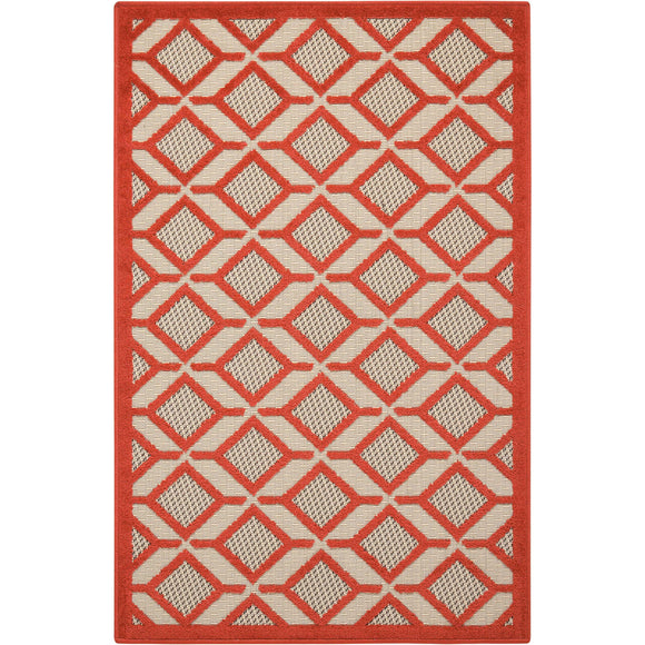 ALH03 Red-Outdoor-Area Rugs Weaver