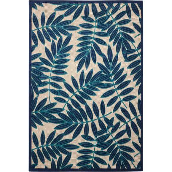 ALH18 Navy-Outdoor-Area Rugs Weaver