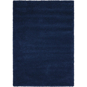 AMOR1 Blue-Shag-Area Rugs Weaver