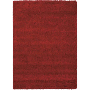 AMOR1 Red-Shag-Area Rugs Weaver