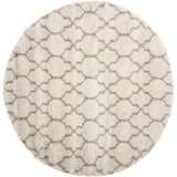 AMOR2 Cream-Shag-Area Rugs Weaver