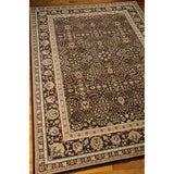ANT03 Brown-Traditional-Area Rugs Weaver