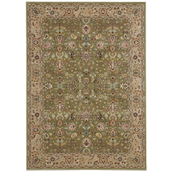 ANT04 Green-Traditional-Area Rugs Weaver