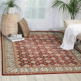 AR002 Red-Vintage-Area Rugs Weaver
