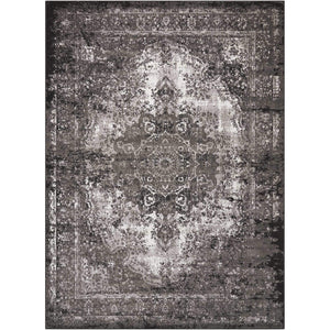 AR005 Charcoal-Vintage-Area Rugs Weaver