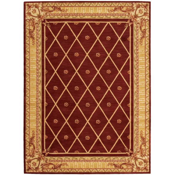 AS03 Red-Traditional-Area Rugs Weaver