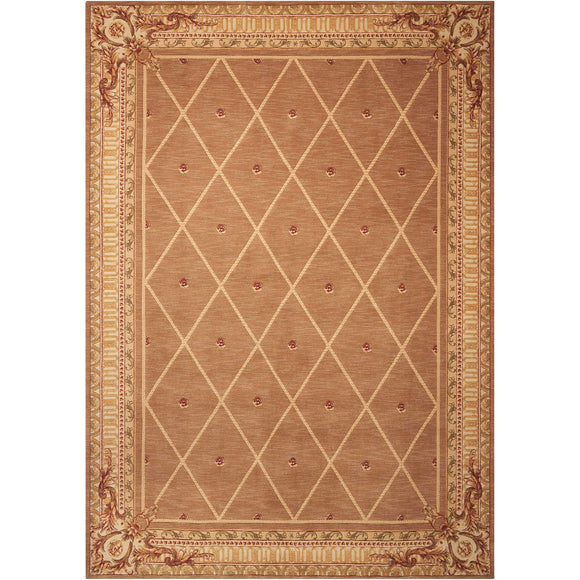 AS03 Brown-Traditional-Area Rugs Weaver
