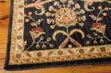 BAB01 Black-Traditional-Area Rugs Weaver
