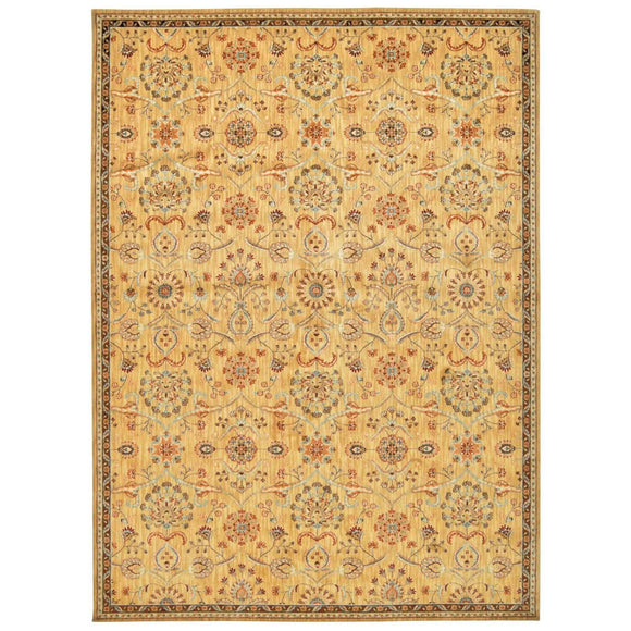 BAB01 Gold-Traditional-Area Rugs Weaver