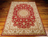 BAB02 Red-Traditional-Area Rugs Weaver