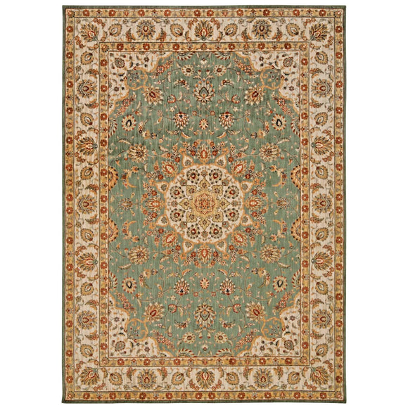 BAB02 Teal-Traditional-Area Rugs Weaver