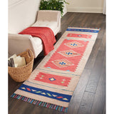 BAJ02 Red-Modern-Area Rugs Weaver