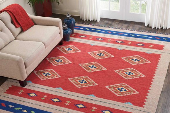 Area Rugs Weaver | Rugs Sale | - BAJ02 Red Rug