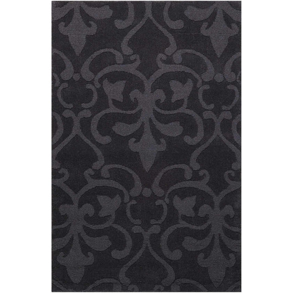 BAR04 Charcoal-Transitional-Area Rugs Weaver