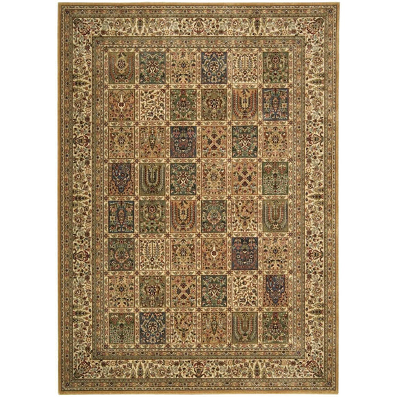 BD01 Beige-Traditional-Area Rugs Weaver