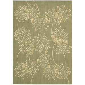 CAP1 Green-Casual-Area Rugs Weaver