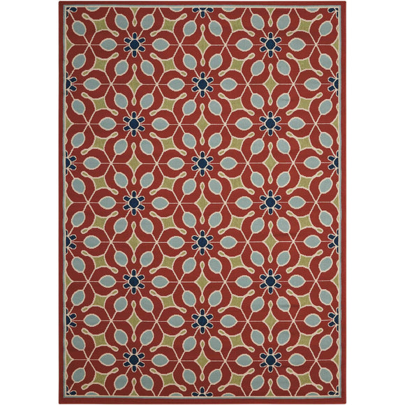 CRB07 Red-Outdoor-Area Rugs Weaver