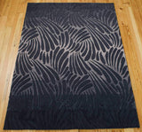 CON21 Charcoal-Modern-Area Rugs Weaver