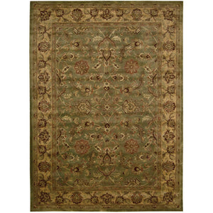 JA12 Green-Traditional-Area Rugs Weaver