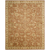JA45 Brown-Traditional-Area Rugs Weaver