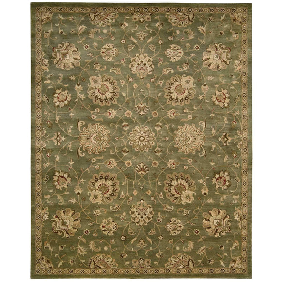 JA46 Green-Traditional-Area Rugs Weaver