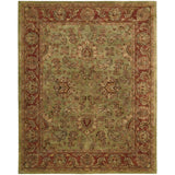 JA50 Green-Vintage-Area Rugs Weaver