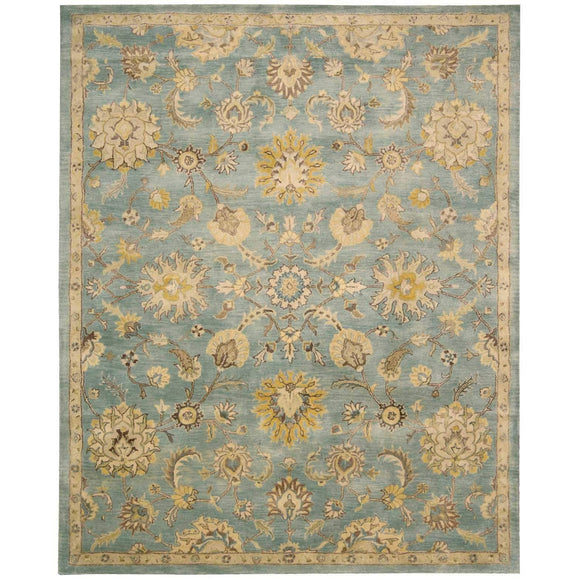 JA53 Blue-Traditional-Area Rugs Weaver