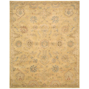 JA54 Gold-Vintage-Area Rugs Weaver
