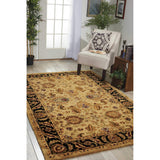 JA22 Gold-Traditional-Area Rugs Weaver