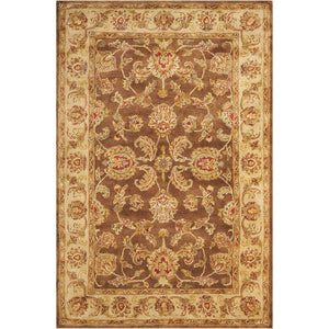 JA23 Brown-Traditional-Area Rugs Weaver